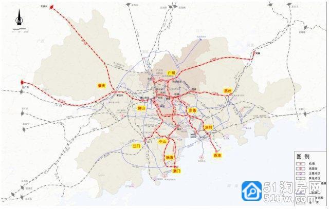广深第二高铁来了,15分钟从广州天河到深圳机场,设计600公里时速