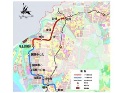 深圳地铁12号线延长线已开工:沙井蚝乡/沙三/共和/步涌都要通地铁了!