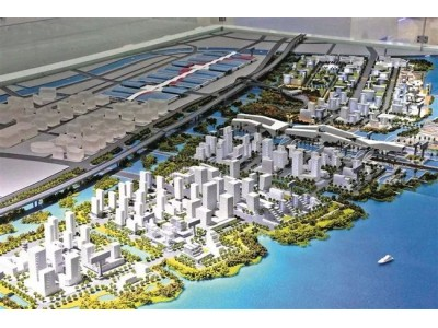 沙井将崛起湾区超级海洋新城!海洋新城、大空港、深中门户等重大项目