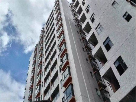 长安鸿瑞阁二手房,三栋花园小区,两房两厅78平,高楼层东南向带精装仅售58万
